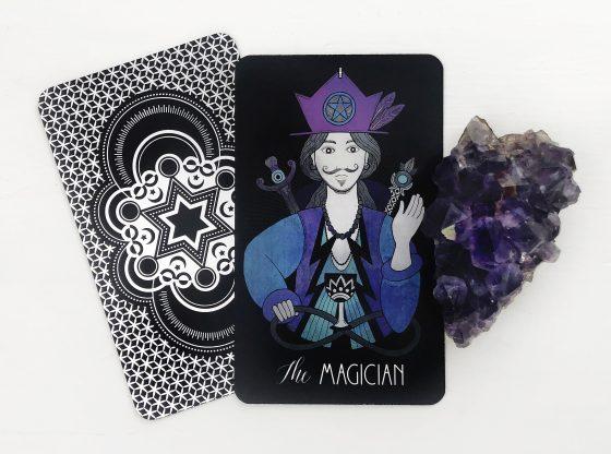 INSPIRATIONAL TAROT DECK THE MAGICIAN