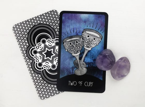 INSPIRATIONAL TAROT DECK TWO OF CUPS