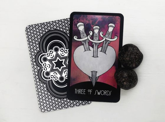 INSPIRATIONAL TAROT DECK THREE OF SWORDS