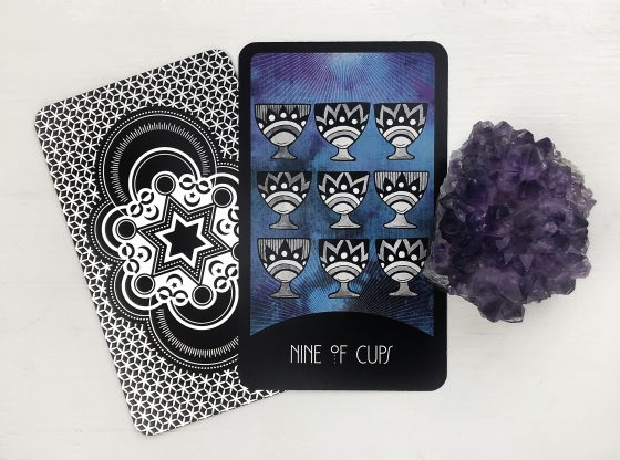 INSPIRATIONAL TAROT DECK NINE OF CUPS