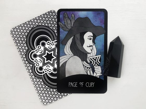 INSPIRATIONAL TAROT DECK PAGE OF CUPS