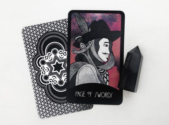 The Page of Swords Tarot Card | Keen