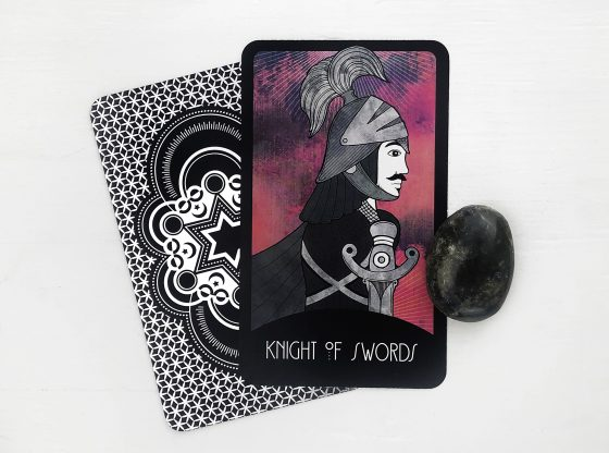 INSPIRATIONAL TAROT DECK KNIGHT OF SWORDS