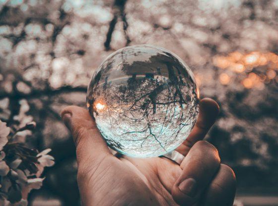clear crystal ball