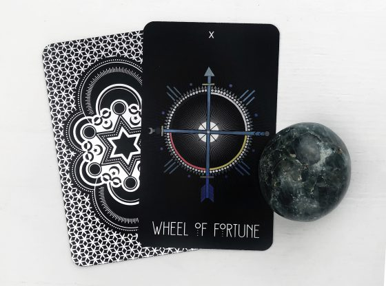 INSPIRATIONAL TAROT DECK WHEEL OF FORTUNE