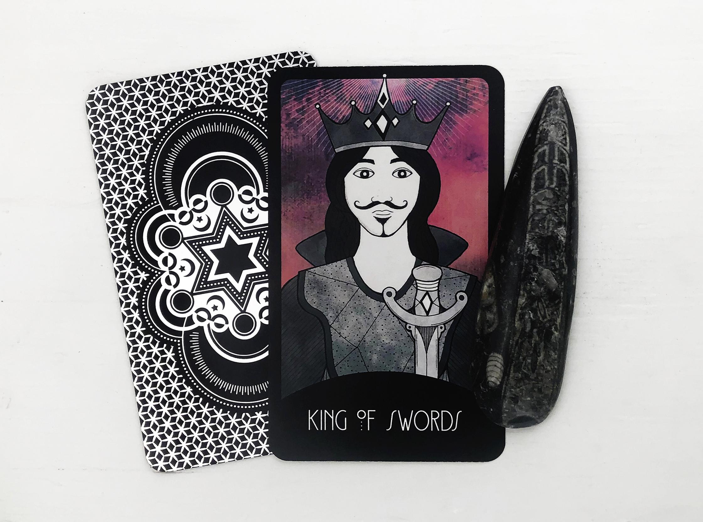 The King Of Swords Tarot Card Keen Articles 6 of stones | the charming tarot. the king of swords tarot card keen